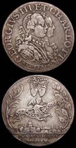 London Coins : A168 : Lot 955 : Medals (2) Marriage of George III and Charlotte 1761 26mm diameter in silver Eimer 691 Obverse: Bust...