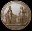London Coins : A168 : Lot 977 : Union of Great Britain and Ireland 1801 49mm diameter in bronze by C.H.Kuchler for M.Boulton, Eimer ...