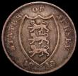 London Coins : A169 : Lot 1005 : Jersey Eighteen Pence Token 1813 Davis 3, KM#Tn5 Fine/Near Fine and scarce