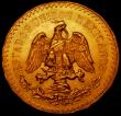 London Coins : A169 : Lot 1015 : Mexico 50 Pesos Gold 1946 KM#481 A/UNC and lustrous