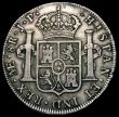 London Coins : A169 : Lot 1058 : Peru 8 Reales 1809 LIMAE JP, Obverse with large (imaginary) bust right KM#105.2 Good Fine/Fine, the ...
