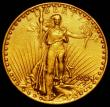 London Coins : A169 : Lot 1136 : USA Twenty Dollars Gold 1924 Breen 7401 VF Ex-Jewellery