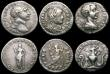 London Coins : A169 : Lot 1148 : Roman (6) Siliqua Valens (364-378AD) , Trier Mint Obverse: Bust right, diademed, draped and cuirasse...