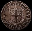 London Coins : A169 : Lot 1201 : Halfcrown Elizabeth I Seventh issue S.2583 North 2013, mintmark 1, some small weak areas, approachin...