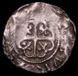 London Coins : A169 : Lot 1217 : Penny Stephen Cross Moline 'Watford' type S.1278, North 873, Obverse legend not struck up,...