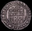 London Coins : A169 : Lot 1258 : Sixpence James I Third Coinage 1623 S.2670, North 2126, mintmark Lis About VF with a few old light s...