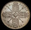 London Coins : A169 : Lot 1482 : Florin 1921 ESC 940, Bull 3768 in an LCGS holder and graded LCGS 80. A most attractive example of th...