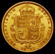 London Coins : A169 : Lot 1516 : Half Sovereign 1887 Jubilee Head, No J.E.B on truncation S.3869C EF