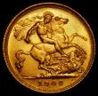 London Coins : A169 : Lot 1526 : Half Sovereign 1908M Marsh 516 GEF/AU and lustrous, all Australian Mint Edward VII Half Sovereign de...