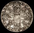 London Coins : A169 : Lot 1553 : Halfcrown 1713 ESC 584, Bull 1375 (listed under 1712 in error), Roses and Plumes Bright approaching ...