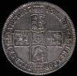 London Coins : A169 : Lot 1555 : Halfcrown 1746 LIMA ESC 606, Bull 1688 in an LCGS holder and graded LCGS 50 a pleasing example retai...