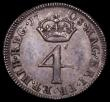 London Coins : A169 : Lot 1635 : Maundy Fourpence 1708 ESC 1890 GVF with some surface marks on the obverse
