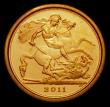 London Coins : A169 : Lot 1702 : Quarter Sovereign 2011 S.SA1 Proof nFDC with some light toning
