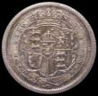 London Coins : A169 : Lot 1729 : Shilling 1817 IIONI (Unbarred H) LCGS Variety 03 a sharp example displaying choice blue and green to...