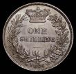 London Coins : A169 : Lot 1746 : Shilling 1866 ESC 1314, Bull 3027, Die Number 24. in an LCGS holder and graded LCGS 82, an outstandi...