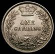 London Coins : A169 : Lot 1750 : Shilling 1875 ESC 1327, Bull 3045, Die Number 14, a mint example with original lustre, and with trac...