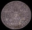 London Coins : A169 : Lot 1784 : Sixpence 1683 ESC 1523 VF or better with an attractive old tone, comes with old collector's tic...