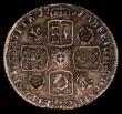London Coins : A169 : Lot 1792 : Sixpence 1731 Roses and Plumes ESC 1607, Bull 1741 Good Fine or slightly better, the reverse with a ...