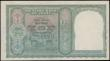London Coins : A169 : Lot 197 : India Reserve Bank 5 Rupees Pick 23a (Razack-Jhunjhunwalla 4.4.1) ND 1943 signature Deshmukh black s...