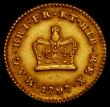 London Coins : A169 : Lot 1971 : Third Guinea 1797 S.3738 VF or better