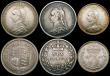 London Coins : A169 : Lot 2121 : Victoria 1887 Jubilee Head coinage (7) Double Florin 1887 Arabic 1 GVF, Halfcrown 1887 NEF, Florin 1...
