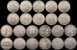 London Coins : A169 : Lot 2142 : China - Kwang-Tung Province 20 Cents (21) undated 1890-1908 issues Y#201 (5) one GF, the others NVF ...