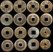 London Coins : A169 : Lot 2144 : China and Taiwan Cash Coins (15) a mix of different types VG to Good Fine