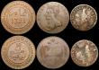London Coins : A169 : Lot 2178 : GB and World (6) GB Penny 1884 Freeman 119 dies 12+N UNC the reverse with traces of lustre, Keeling ...
