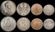 London Coins : A169 : Lot 2187 : Germany, German States, Austria and Austrian Netherlands a small group (8) German States (4) Prussia...