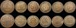 London Coins : A169 : Lot 2274 : USA (11) Quarter Dollars (2) 1896 with the 8 double struck at the lower left, VG, 1918S VF, Dimes (2...