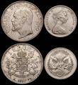 London Coins : A169 : Lot 2293 : World a small group (5) China 5 Yuan 1986 in silver KM#150 22.22 grammes, Lustrous UNC, Philippines ...
