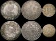 London Coins : A169 : Lot 2296 : World a small group (6) Ethiopia Birr (2) EE1889A KM#5 VF/NVF, EE1892A KM#19 Fine, Turkey 20 Kurush ...