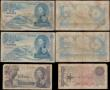 London Coins : A169 : Lot 266 : Seychelles (6) mixed grades VG to Fine comprising QE2 Annigoni's portrait 1968 issues (4) inclu...