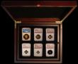 London Coins : A169 : Lot 393 : Britannia Gold Proof Set 2019 a 6-coin set comprising Gold £100 One Ounce, Gold £50 Half...