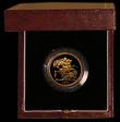 London Coins : A169 : Lot 508 : Five Pounds 1981 Gold BU in the Royal Mint's presentation box with certificate