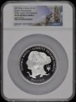 London Coins : A169 : Lot 657 : Ten Pounds 2019 5oz. Silver Proof 200th Anniversary of the Birth of Queen Victoria, the reverse with...