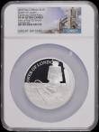 London Coins : A169 : Lot 659 : Ten Pounds 2019 The Tower of London - Ceremony of the Keys 5oz. Silver Proof S.M15 in a large NGC ho...