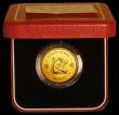 London Coins : A169 : Lot 764 : Hong Kong $1000 1980 Year of the Monkey KM#47 UNC in the red box of issue with certificate
