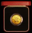 London Coins : A169 : Lot 766 : Hong Kong $1000 1980 Year of the Monkey KM#47 UNC in the red box of issue with certificate