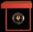 London Coins : A169 : Lot 770 : Hong Kong $1000 1981 Year of the Cockerel KM#48 Gold Proof FDC in the red case of issue with certifi...