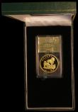 London Coins : A169 : Lot 810 : South Africa Natura Coinage 1994 Gold One Ounce PTA ZOO, Family of Lions Proof KM#192 Limited Editio...