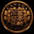 London Coins : A169 : Lot 864 : Canada Gold Five Dollars 2002 Proof 90th Anniversary of the 1912 Five Dollar coin, KM#519 in an NGC ...