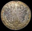 London Coins : A169 : Lot 925 : German States - Saxony-Weimar Thaler 1623GA Spear to left of date KM#854 Good Fine with olod gold to...