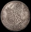 London Coins : A170 : Lot 1010 : German States - Bavaria 30 Kreuzer 1728 Karl Albrecht KM#402 Munich Mint, Bold and clear Fine