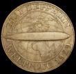 London Coins : A170 : Lot 1030 : Germany - Weimar Republic 5 Reichsmarks 1930F Graf Zeppelin KM#68 UNC with very minor contact marks ...