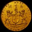 London Coins : A170 : Lot 1049 : India - Madras Presidency Gold Mohur undated (1819) Reverse: ENGLISH EAST INDIA COMPANY, Small lette...
