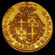 London Coins : A170 : Lot 1110 : Malta 10 Scudi Gold 1763 KM#272 GVF/VF with some light adjustment lines, a most attractive example o...