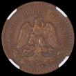 London Coins : A170 : Lot 1115 : Mexico 5 Centavos 1930 Square 0 NGC VF35 BN