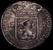 London Coins : A170 : Lot 1132 : Netherlands - Zeeland Silver Ducat 1777 KM#52.4 Fine or slightly better