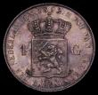 London Coins : A170 : Lot 1141 : Netherlands Gulden 1892 KM#117 UNC with attractive gold and magenta toning, a most attractive exampl...